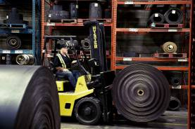 Belterra Corporation Forklift Moving Belt
